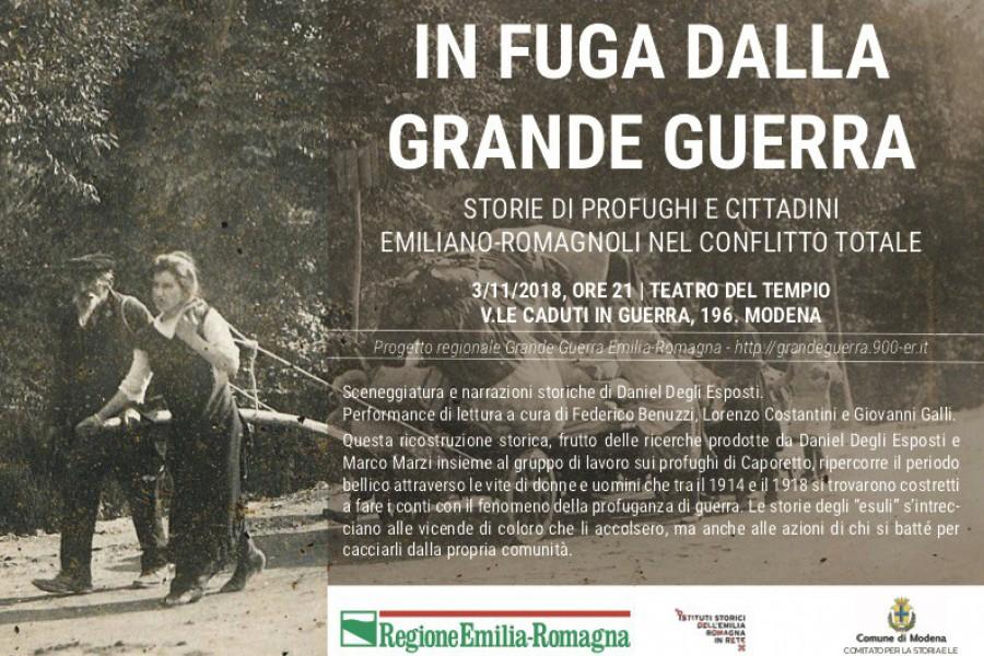 In fuga dalla Grande Guerra. Storie di profughi e cittadini emiliano-romagnoli nel conflitto totale